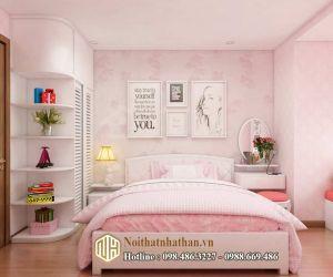 Mẫu phòng ngủ bé gái NH22