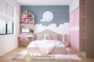 Mẫu phòng ngủ bé gái NH24