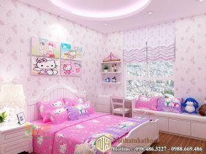 Mẫu phòng ngủ bé gái NH25