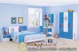 Mẫu phòng ngủ bé trai NHBT03