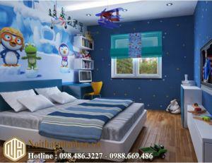 Mẫu phòng ngủ bé trai NHBT05