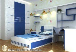 Mẫu phòng ngủ bé trai NHBT06