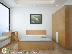 Mẫu phòng ngủ bé trai NHBT09