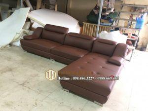 Sofa da nỉ NHDN06