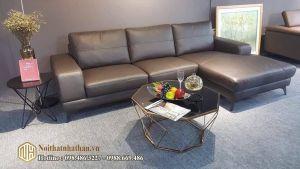 Sofa da nỉ NHDN14