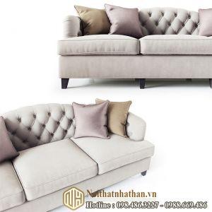 Sofa da nỉ NHDN21