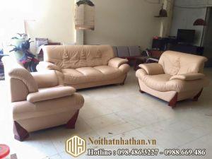 Sofa da nỉ NHDN23