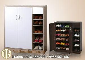 Mẫu tủ giầy NHTG19
