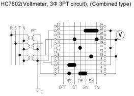 Chuyển mạch Volt 7 vị trí (HC-7602)