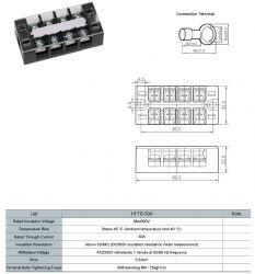 Cầu đấu dây 30A 4P (HFTB-304)