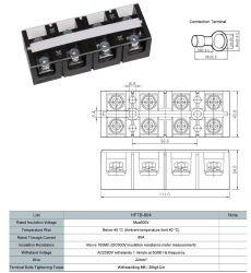 Cầu đấu dây 60A 4P (HFTB-604)