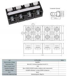 Cầu đấu dây 100A 4P (HFTB-1004)