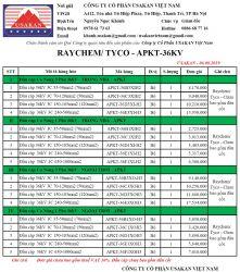 Đầu cáp co nóng hãng Raychem/ Tyco/ Asia (APKT-36kV)