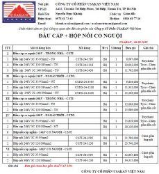 Đầu cáp co nóng hãng Raychem/ Tyco/ Asia (CSTI + CSTO + CSJT)