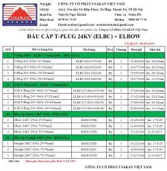 Đầu cáp T-Plug, Elbow 24kV (ELBC+RSES-24kV)