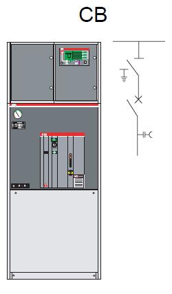 Ngăn máy cắt CB 24kV 20kA/1s (CB - 695)
