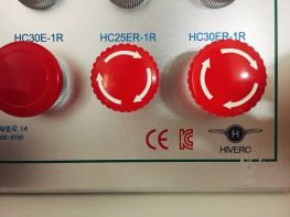 Nút dừng khẩn cấp 1 cặp tiếp điểm phụ, xoay để Reset (HC25ER-1)
