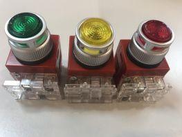 Nút ấn có đèn 220VAC (HC25L-22AL)