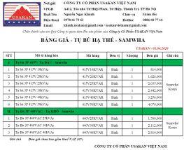 Samwha - Tụ bù hạ thế 415V - 440V