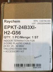 Đầu cáp co nóng 24kV 3x25/50mm2 - Trong nhà (EPKT-24B3X-H2) - Raychem / Tyco / Poland