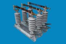 Cầu dao cách ly ngoài trời chém Đứng - Sứ cách điện Polymer - 24kV 630A - Vina Electric