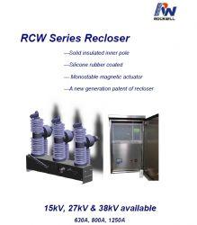 Máy cắt tự đóng lại - Recloser 27kV 630A, 12.5kA - RCW-27 - Rockwill