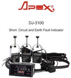 Bộ báo sự cố dòng ngắn mạch và chạm đất - DJ-3100 - Apex - Xiamens - Leelen