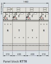 Tủ RMU 24kV 8DJH-RRTT hãng Siemens