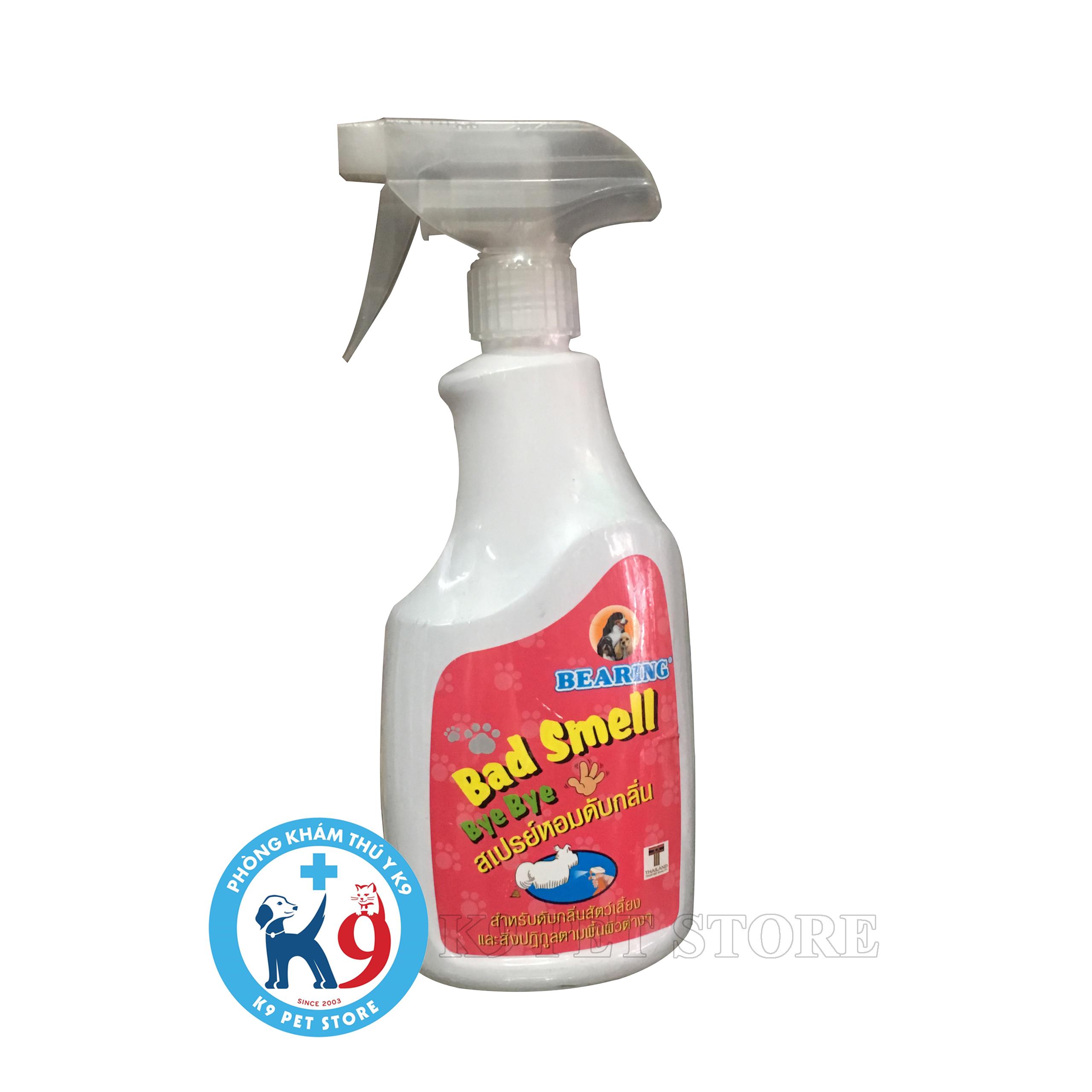 Bearing Bye Bye Bad Smell Spray - Chai xịt khử mùi thú cưng