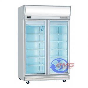 Tủ đông lạnh kết hợp cánh kính Berjaya