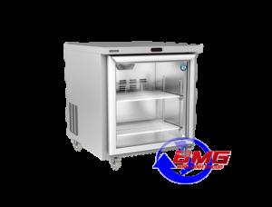 Tủ lạnh dạng bàn cánh kính Hoshizaki RTW-70LS4-GD