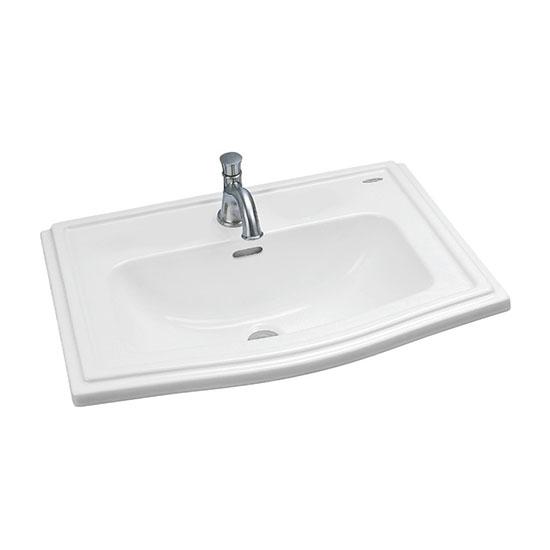Chậu rửa mặt lavabo TOTO LW781CJ-W