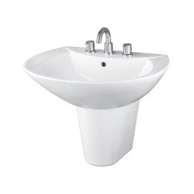 Chậu rửa lavabo TOTO LW820CJ#W