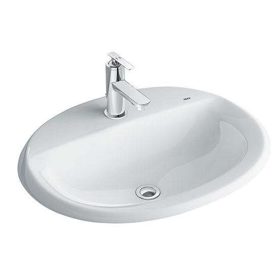 Chậu rửa mặt lavabo INAX AL-2395V (Kháng khuẩn)