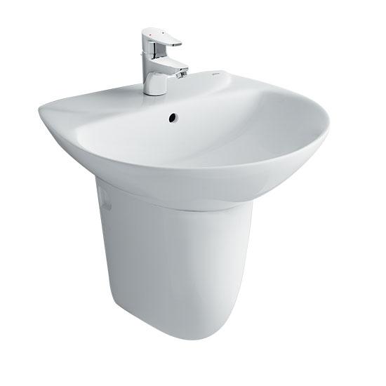 Chậu rửa mặt lavabo INAX AL-285V-L-288VC (Kháng khuẩn)