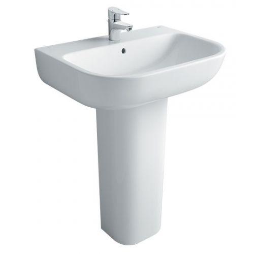 Chậu rửa mặt lavabo INAX AL-298V-L-298VD (Kháng khuẩn)