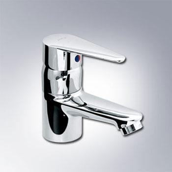 Vòi chậu lavabo nóng lạnh Inax LFV-1102S-1