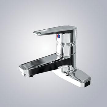 Vòi chậu lavabo nóng lạnh inax LFV-1201S-1