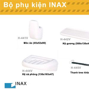 Bộ phụ kiện phòng tắm cao cấp Inax CR series