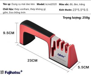 Giới thiệu công cụ mài dao kéo kcmd2020