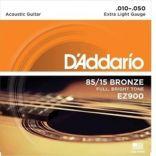 Acoustic Guitar Strings D'Addario EZ900