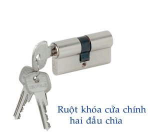 Ruột Khóa Cửa Chính 71mm Hafele 916.96.015
