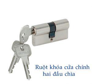 Ruột Khóa 2 Đầu Chìa 65mm Hafele 916.95.116
