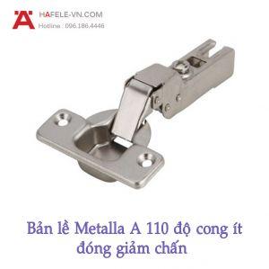 Bản Lề Trùm Nửa Metalla A 110° Giảm Chấn Hafele 311.88.511