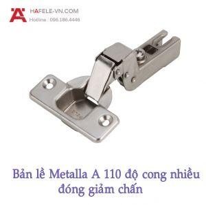 Bản Lề Lọt Lòng Metalla A 110° Giảm Chấn Hafele 311.88.512