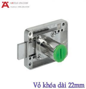 Khóa Vuông Chốt Chết 22mm Hafele 232.26.621