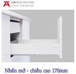 Ray Hộp Alto-S Nhấn Mở H170mm Hafele 552.35.755