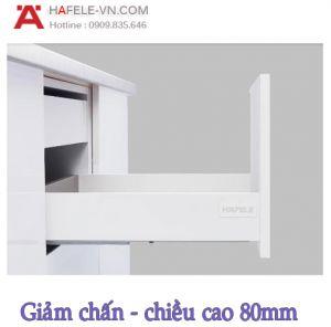 Ray Hộp Alto-S Giảm Chấn H80mm Hafele 552.55.707