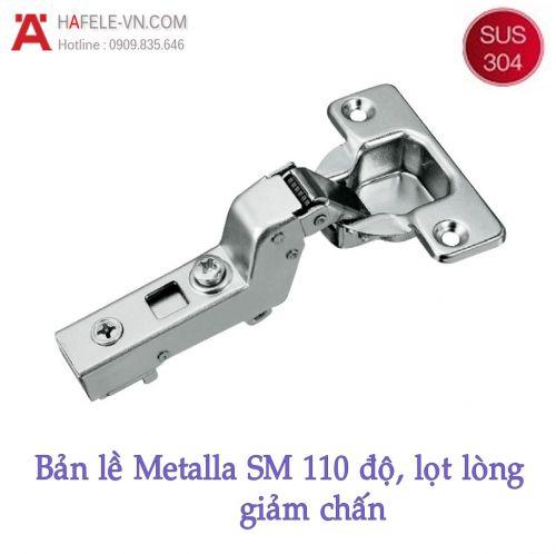 Bản Lề Lọt Lòng Metalla SM 110° Giảm Chấn Hafele 315.06.752
