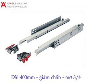Ray Âm EPC Plus Giảm Chấn Mở 3/4 D400mm Hafele 433.03.004